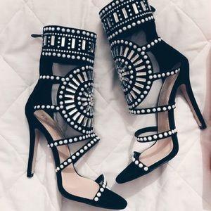 Public Desire LA Black heels